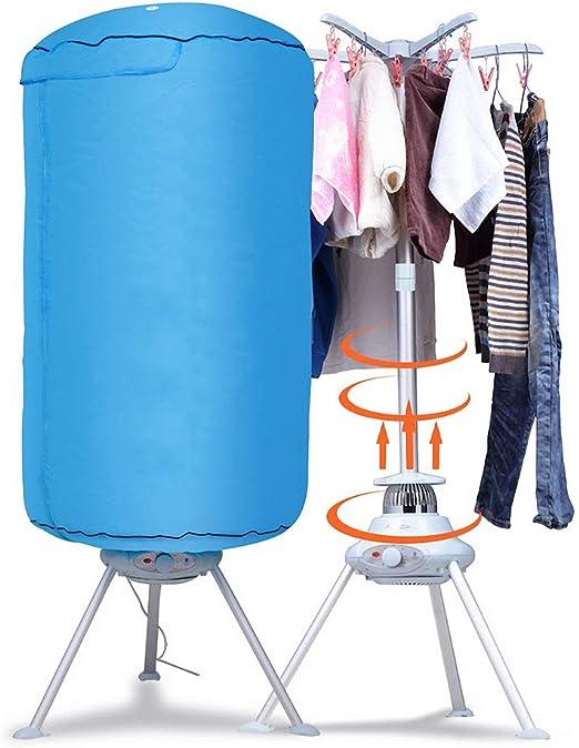 Portable Ventless Laundry Clothes Dryer Folding Drying Machine 900 watt Heater