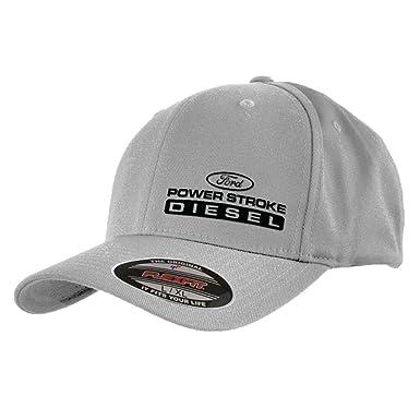 0fcb8d9e332 Amazon.com: Ford Power Stroke Flex Fit Hats: Clothing