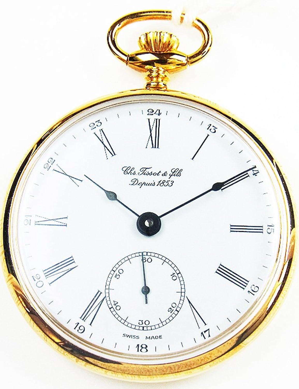 [ティソ]TISSOT 懐中時計 T82.4.402.13 【正規輸入品】 B008MVMIPE