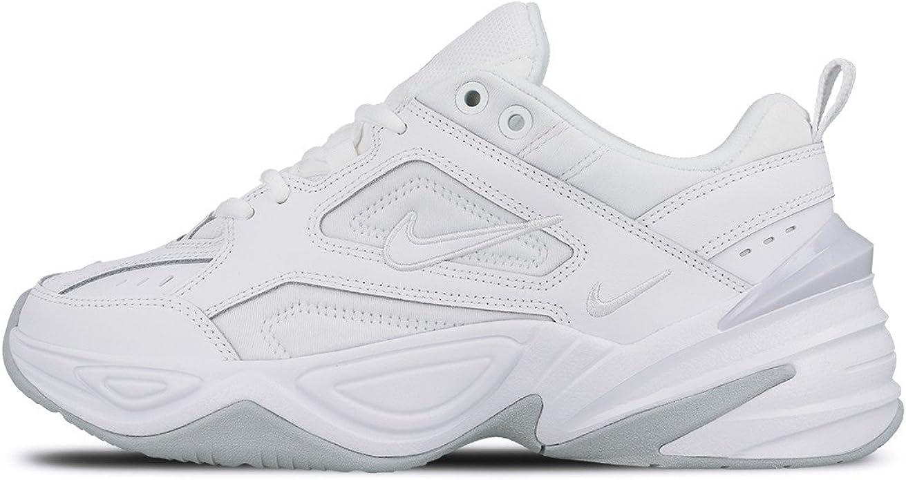 Amazon.com: Nike Mujeres Bajo Top Zapatillas, Blanco Blanco ...