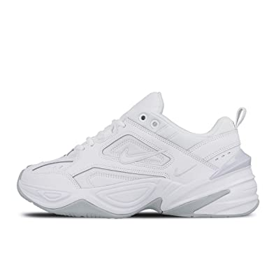 best sneakers b9cd3 bf756 Amazon.com  Nike M2K Tekno White Pure Platinum Womens AO3108-100 US Women  Size 11  Fashion Sneakers