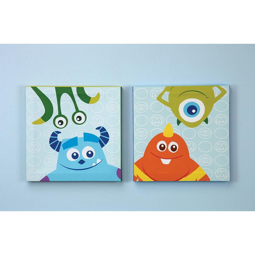 Canvas wall decor baby