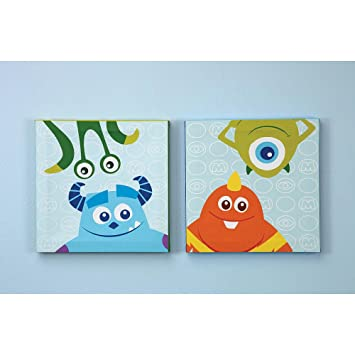 Disney Baby   Monsters, Inc.   2 Piece Canvas Wall Art
