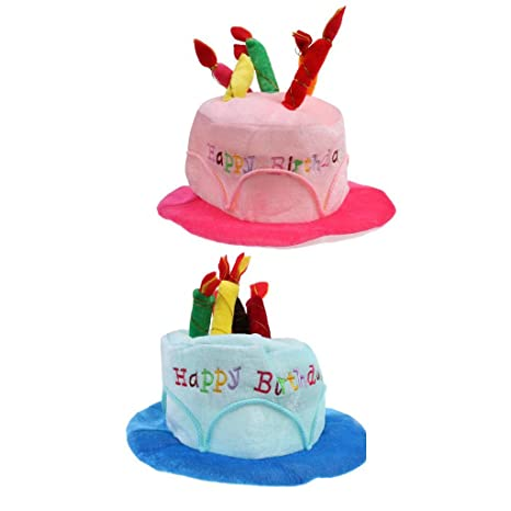 Image Unavailable BAOBLADE Set Of 2pcs Funny Adults Kids Happy Birthday Hat