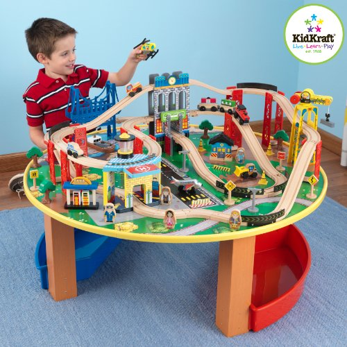 Kidkraft - 17985 - Accessoire Pour Maquette - Table Et Circuit City Explorer's