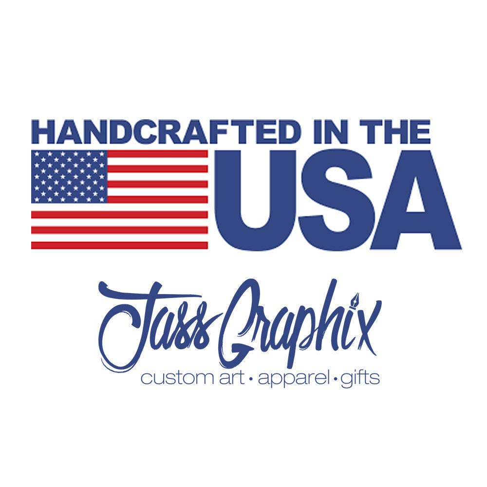 JASS GRAPHIX American Flag License Plate Matte Black on 1/8'' White Aluminum Composite Heavy Duty Tactical Patriot USA Car Tag (Black on White w Blue) by JASS GRAPHIX (Image #7)