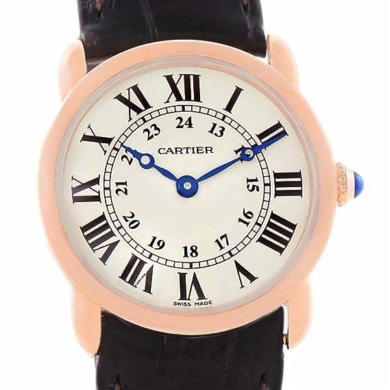 Cartier Ronde Cuarzo Mujer Reloj W6800151 (Certificado) de Segunda Mano