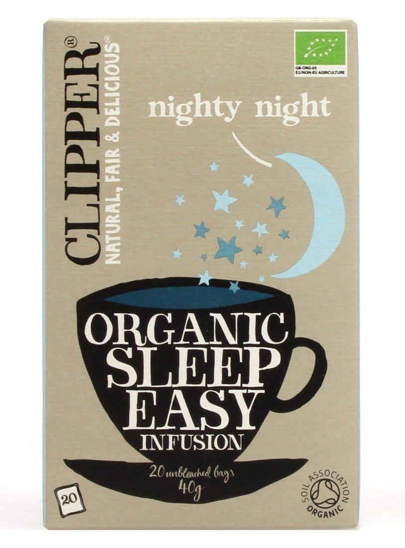 Clipper Sleep Easy Infusión - 20 Bolsas , Pack de 6: Amazon ...