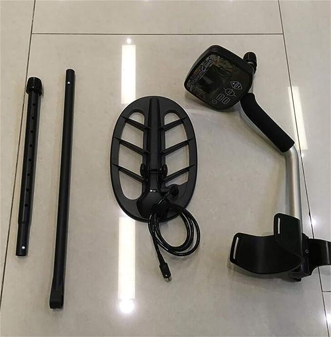 Detector de metales, Buscador de oro subterráneo, Modo de pantalla LCD analógica, Cazador de tesoros arqueológicos: Amazon.es: Bricolaje y herramientas