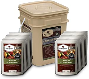 WISE FOODS 07-702 WISE FOODS 07-702 Protein/AllMeat+20SrvngRice G&GBckt 60Srv