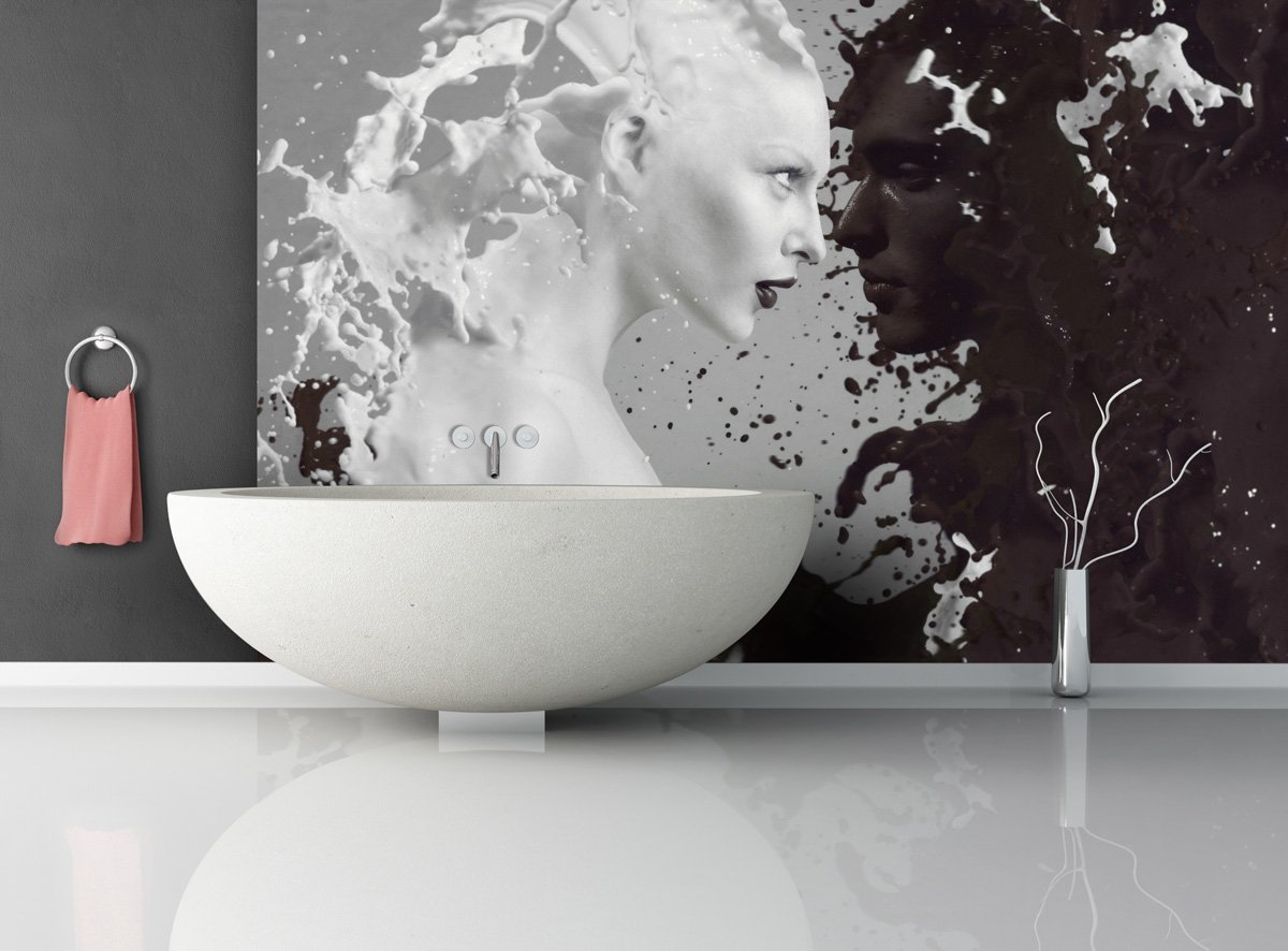 Fototapete Milk and Coffee - weitere Größen und Materialien Materialien Materialien wählbar - DEUTSCHE Profi QUALITÄT von Trendwände B00WCK3ZOE Wandtattoos & Wandbilder 37ccfd