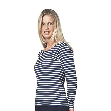 eed37a1f4625 Leela Cotton Damen Langarmshirt Bio-Baumwolle  Amazon.de  Bekleidung