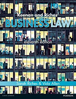Keenan and Riches/' Business Law 11th edn NEW BOOK