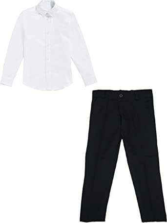 black & white Basic - Camisa y pantalón para niños (6 años ...