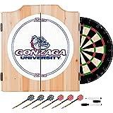 NCAA Gonzaga University Wood Dart Cabinet Set