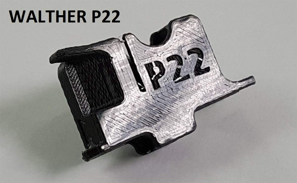 McFadden Machine Lightnin Grip Loader - Compatible with Walther P22 / SP22 /G22 Bull Pup Rifle Magazine Adapter Only by McFadden Machine