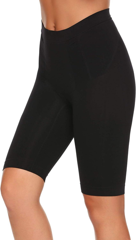 Brinol Damen Hipster Shapewear Miederhose Longshorts Taillenformer Miederpants mit Bein Figurformende W/äsche