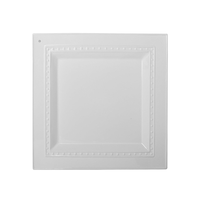Nora Fleming - Square Pearl Charm Platter - K5