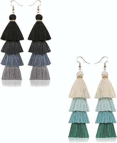 Straw /& purple tier tassels earringsStraw OOAK earrings Super long  Tassels earringsBeach jewelryGifts for mom Pearls earringsEcojewel