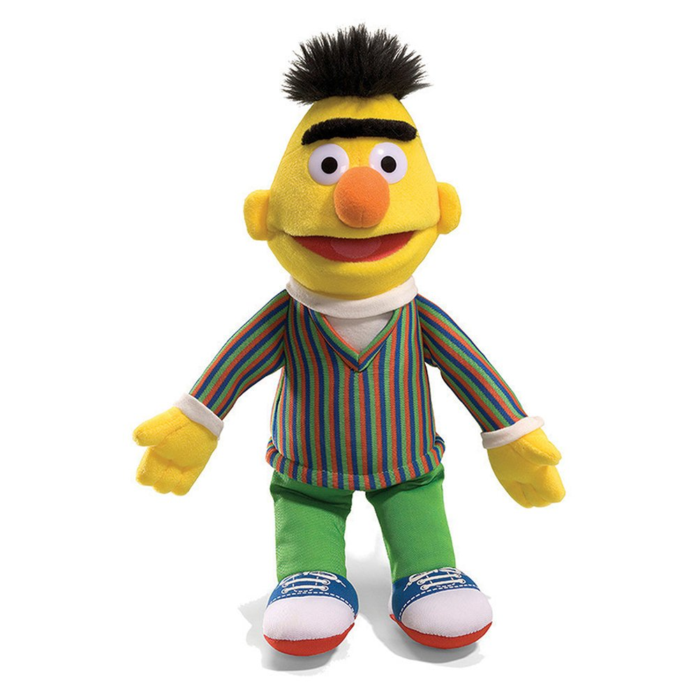 Amazoncom GUND Sesame Street Bert Plush 14 Toy Toys  Games