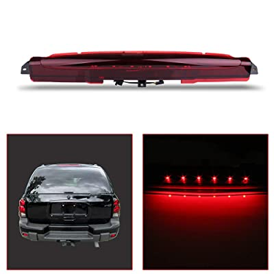 OCPTY High Mount Brake Light LED 3rd Light Replacement Rear Roof Light for 2004-2007 Buick Rainier 2002-2009 Chevrolet Trailblazer 2002-2009 GMC Envoy Excludes XUV 2003-2008 Isuzu Ascender: Automotive
