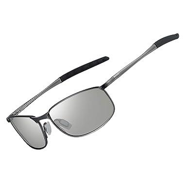 WHCREAT Hombres Gafas de Sol Polarizadas Fotocromáticas ...