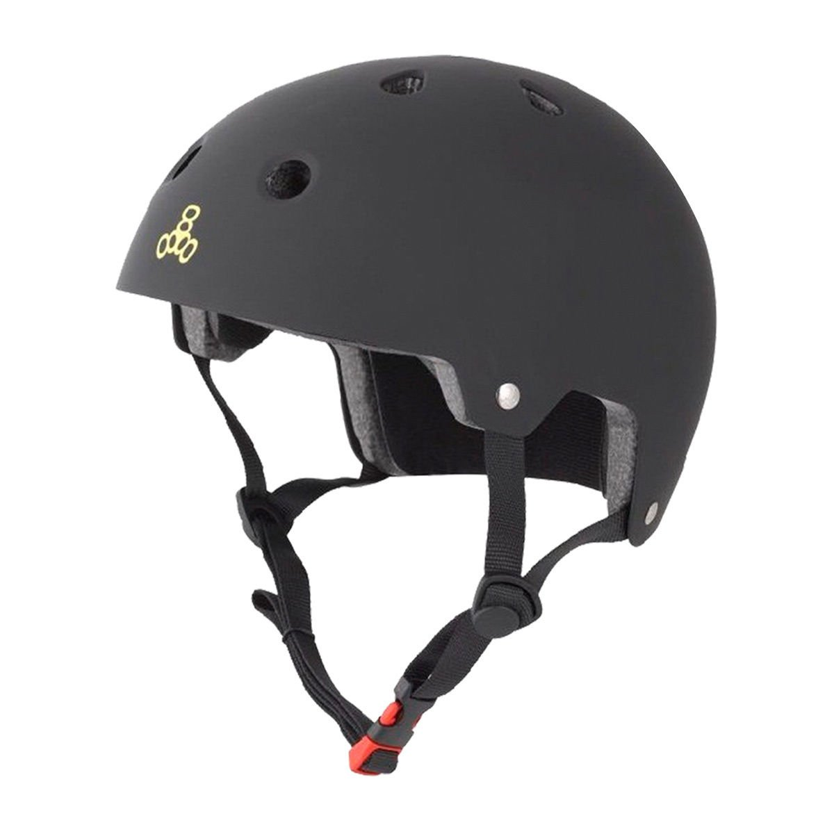 Triple 8 - Protection De Skate Casque Brainsaver Black Rubber - Taille:one Size