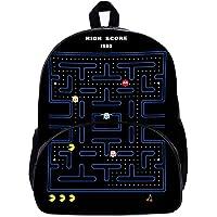 Mesllings Pacman mochila ligera de estilo casual para la escuela, viajes, día festivo, regalo para niños y niñas