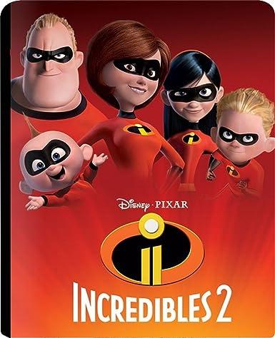 Amazon In Buy The Incredibles 2 Steelbook 3d Dvd Blu Ray
