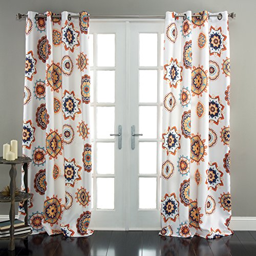Lush Decor Adrianne Window Curtain Panel (Set of