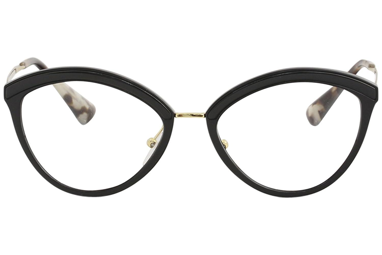 f8c218bdcd3 Amazon.com  Prada Women s Cat Eye Glasses