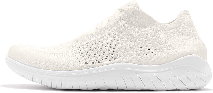 Nike Free RN Flyknit 2018, Zapatillas de Running para Hombre, Blanco (White/White 103), 45.5 EU: Amazon.es: Zapatos y complementos