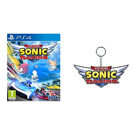 Team Sonic Racing, PS4 + Llavero: PlayStation 4: Amazon.es ...