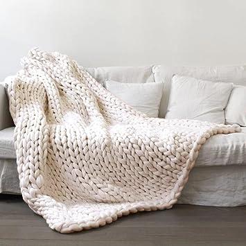 Amazon Winter Warm Comfortor Lotusflower Hand Knitted Chunky