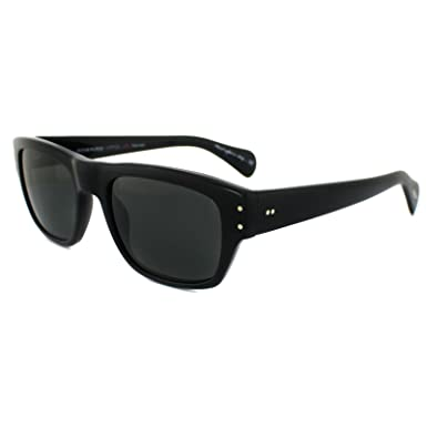sunglasses polarised  Amazon.com: Oliver Peoples 5243 1005P2 Black Evason Wayfarer ...