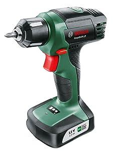 Bosch Perceuse-visseuse EasyDrill 12 sans fil batterie intégrée 12V 1,5 Ah 6/15 Nm 06039B3000