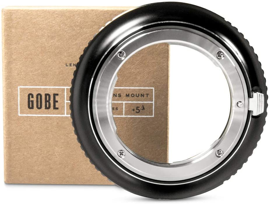 EF//EF-S Compatible with Canon EOS Lens and Fujifilm G Camera Body Gobe Lens Mount Adapter