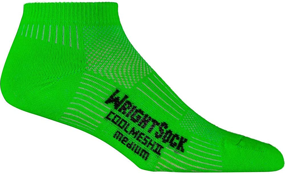 WrightSock Mens Coolmesh II Lo Single-Pack Socks