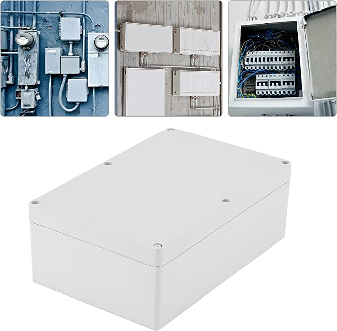 Akozon Caja de Conexiones Electrica 230 * 150 * 85mm Caja Plastico ...