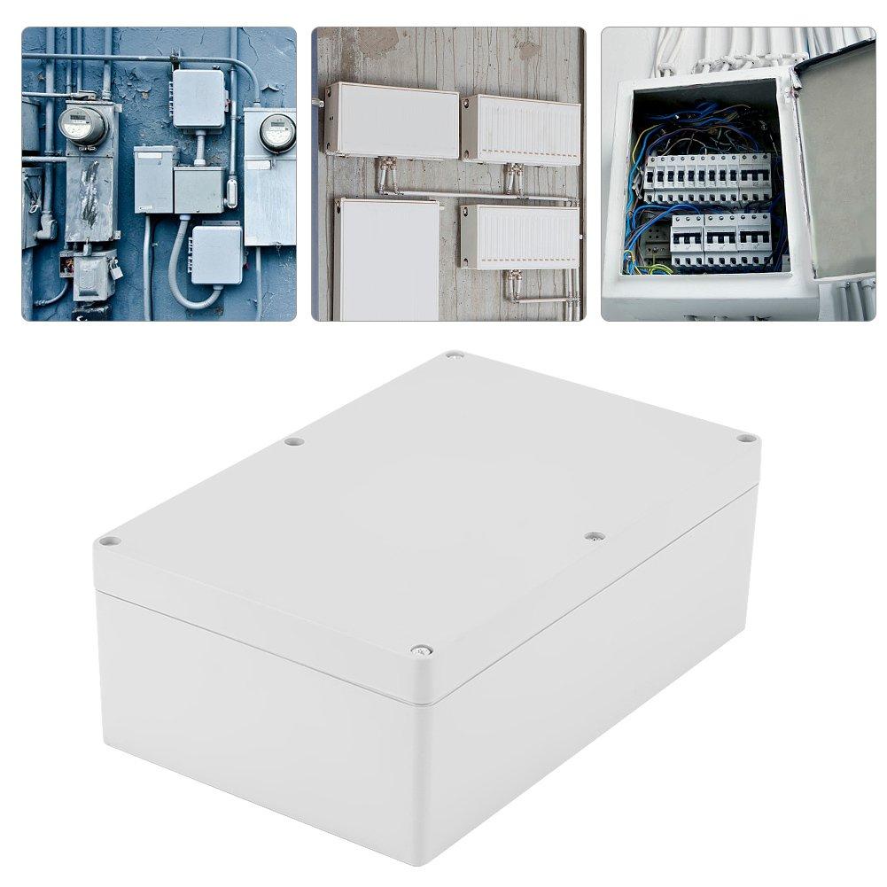 Wasserdichte staubdichte Anschlussdose DIY-Anschlussdose aus Kunststoff-Projektgeh/äuse 9 x 5,9 x 3,3 Zoll 230 x 150 x 85mm