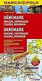 MARCO POLO Karte Dänemark, Horsens, Kobenhavn, Esbierg (MARCO POLO Karten 1:200.000)