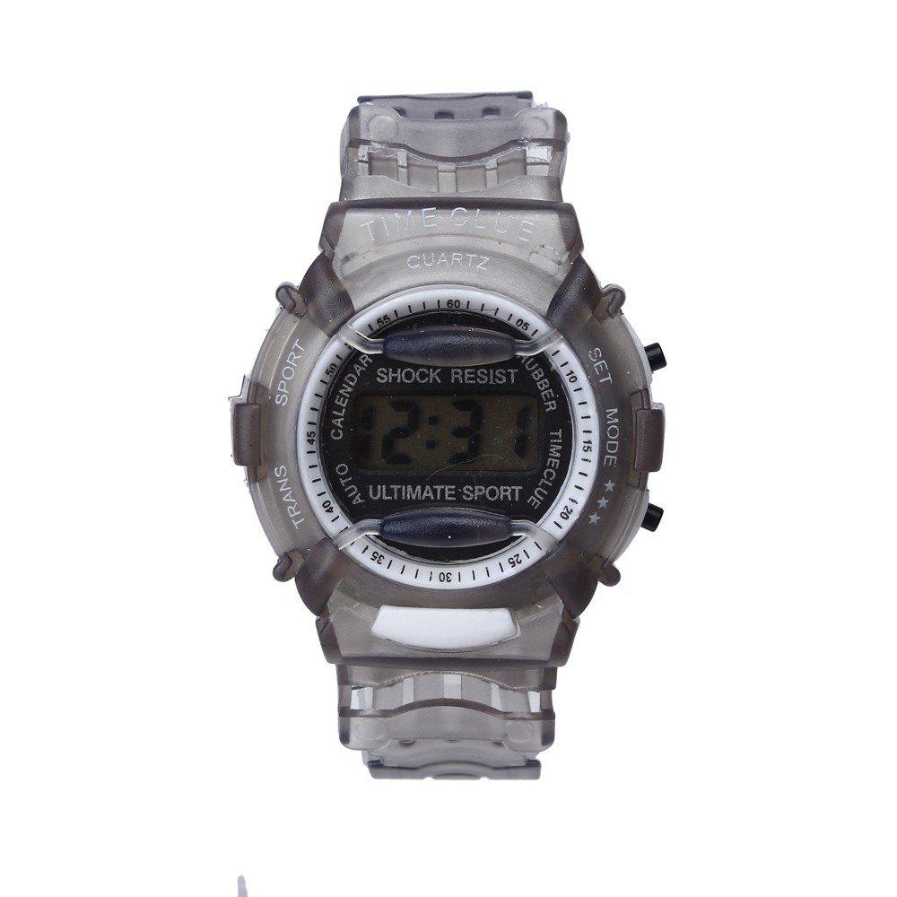 SMTSMT Students Waterproof Digital Wrist Sport Watch - Grey by SMTSMT (Image #1)
