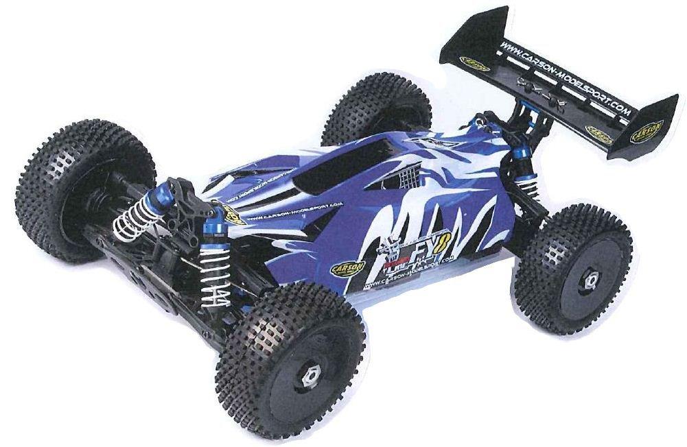 Carson 500801013 - 1:8 Karosserie FY8 mit Dekor mit Spoiler