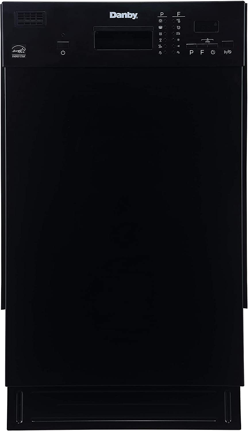 Danby DDW1804EB Built in Dishwasher, Black