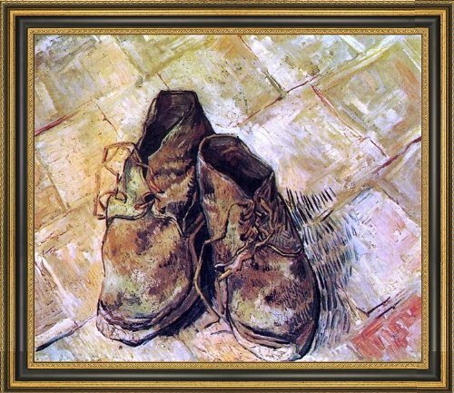 (Art Oyster Vincent Van Gogh A Pair of Shoes - 16.05