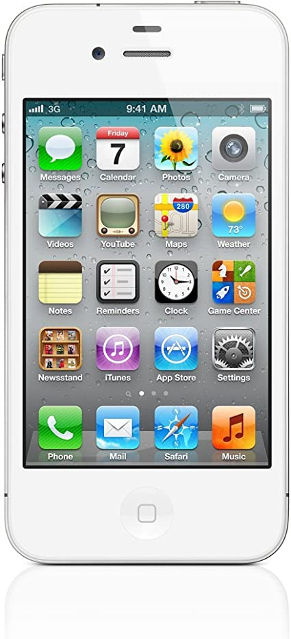 Apple iPhone 4S - Smartphone libre iOS (pantalla 3.5