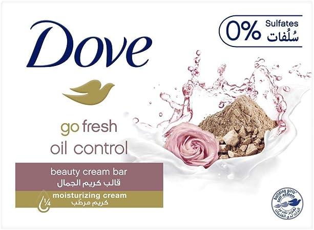 4 PK Dove Go Fresh Moisturizing Beauty Cream Skin Bar Soap