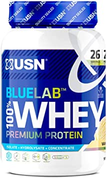 USN Blau Labor 100% Prima Vainilla Suero Proteína Polvo 910 g ...