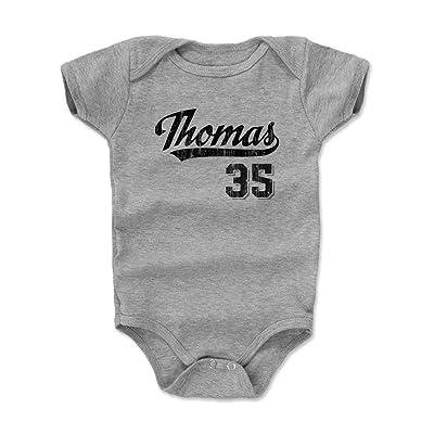 500 LEVEL Frank Thomas Baby Onesie - Vintage Chicago Baseball Baby Clothes - Frank Thomas Script