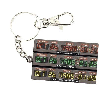 Regreso al Futuro- Llavero de metal Time Control (SD Toys SDTUNI20105)